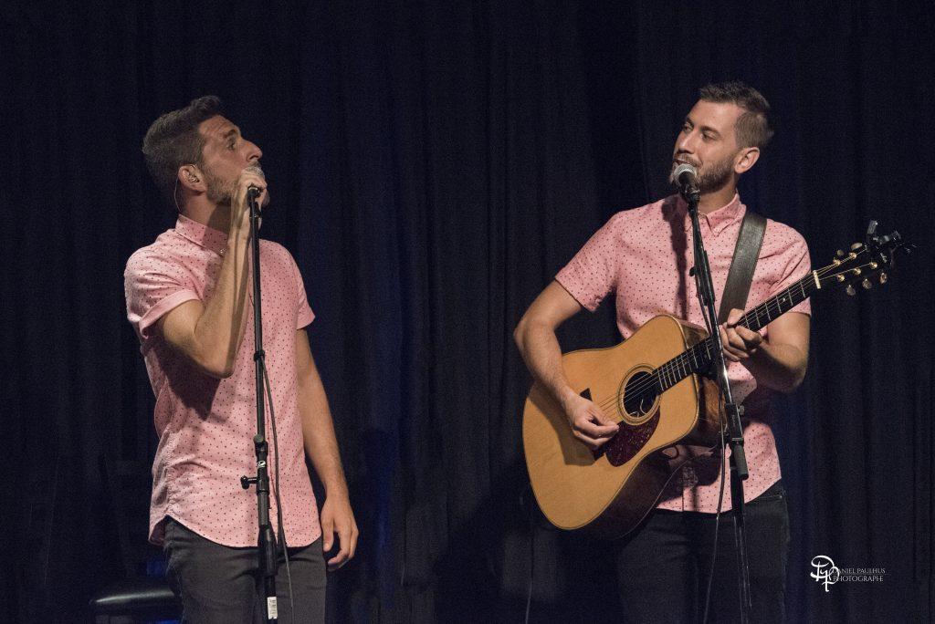 Alexandre et Michael Cyr