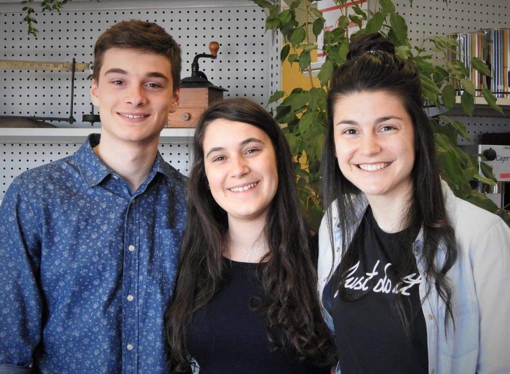 Andréanne, Jordan et Laurence