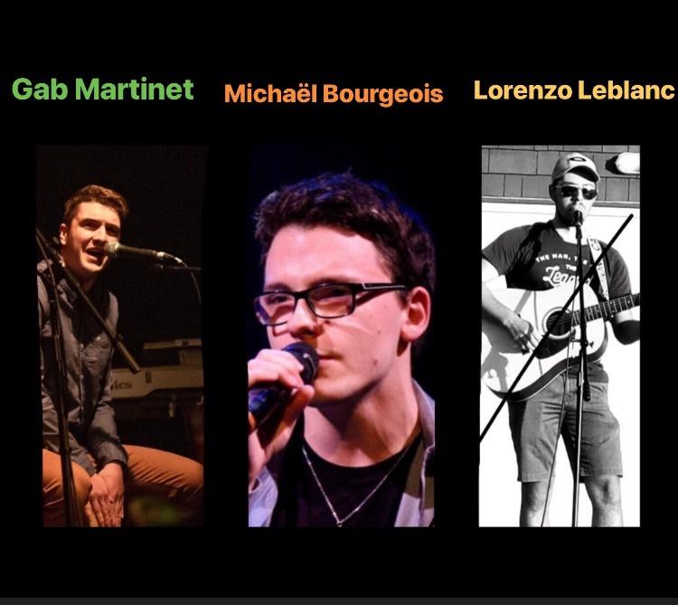 Michael, Lorenzo et Gab