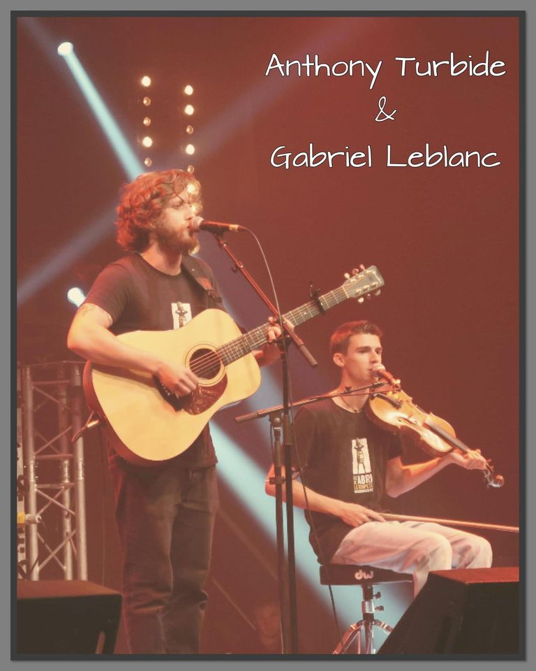 Gabriel Leblanc et Anthony Turbide